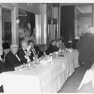 Company Christmas dinner at the Stonewall Jackson hotel, Clarksburg.