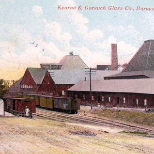The Barnsville plant in 1913 shows the little change from the previous 1883 fowler plant.