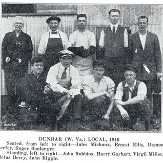 Dunbar local outside of Charleston in 1916.  Cutters.