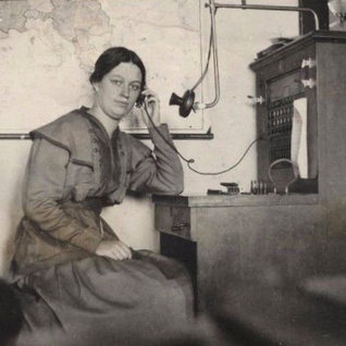And finally the telephone operator at PPG 1914.