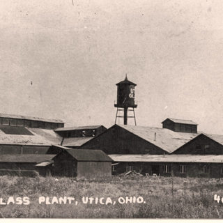 The Utica Window Glass plant around 1907.