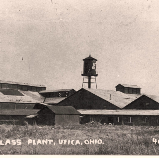 The Utica Window Glass plant around 1907.