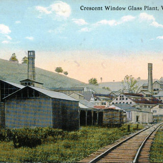 A look from the other direction in 1910.  In February 1913 th oldest plant, closest in this view, was destroyed by fire.