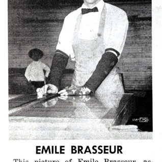Emil Brasseur.  Taken while he worked at Mt. Vernon in those early days.