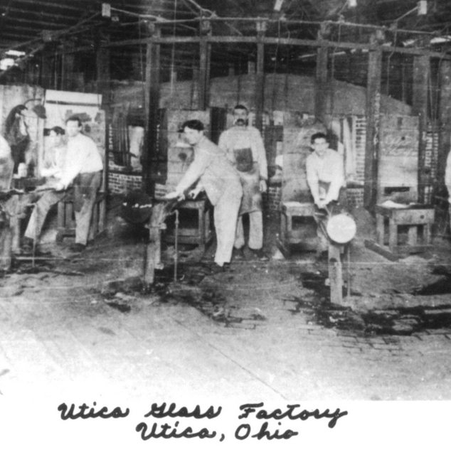 Gather's at the Utica Glass Co.