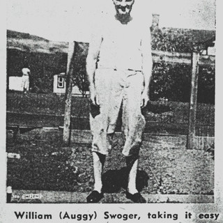 William Swoger, cutter, working at Adamston