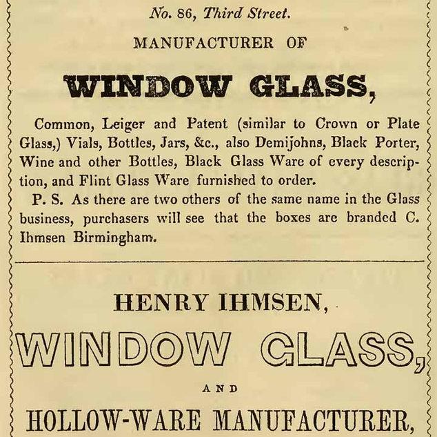 Charles Henry Ihmsen Window Glass