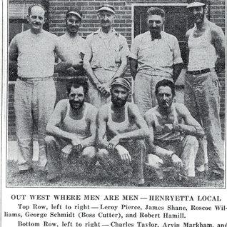Cutters at Henryetta, PPG. 1940.