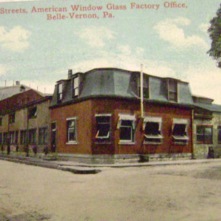 Plant located on 4th and Main in 1908 photo.