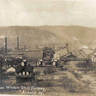 1910 photo of the now American Glass Factory