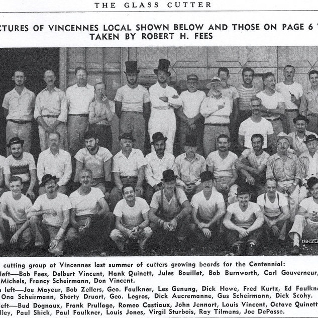 Cutters at Vincennes during the Indana centennial.