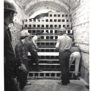 Tank repair to Adamston in the 60's.