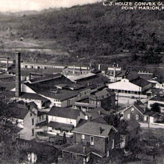 Houze Glass at the old Federation around 1938.