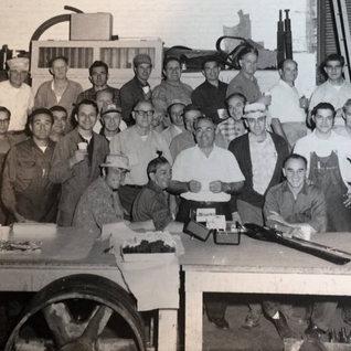 1970 Jim Carter CIO worker retirement.