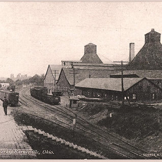 Depot and the Barnsville glass works.