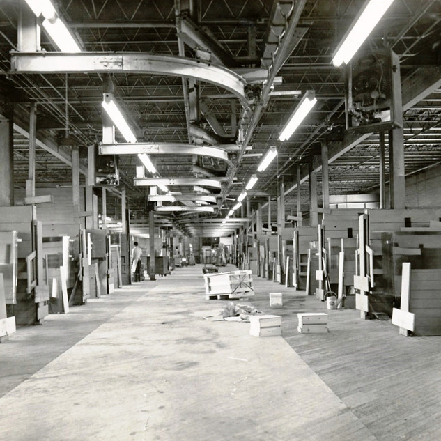 Middle floor of the cold end cutting dept.