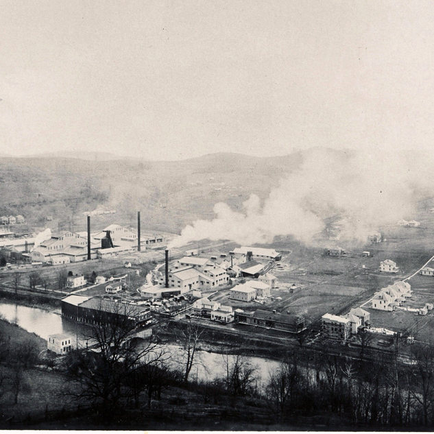 View of Norwood plant right,