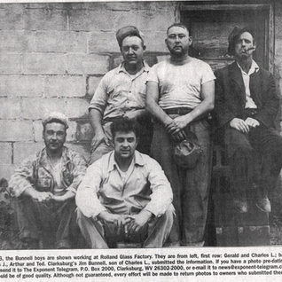 The Bunnell boys at Rolland 1946.