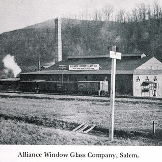 The alliance window glass, Salem.