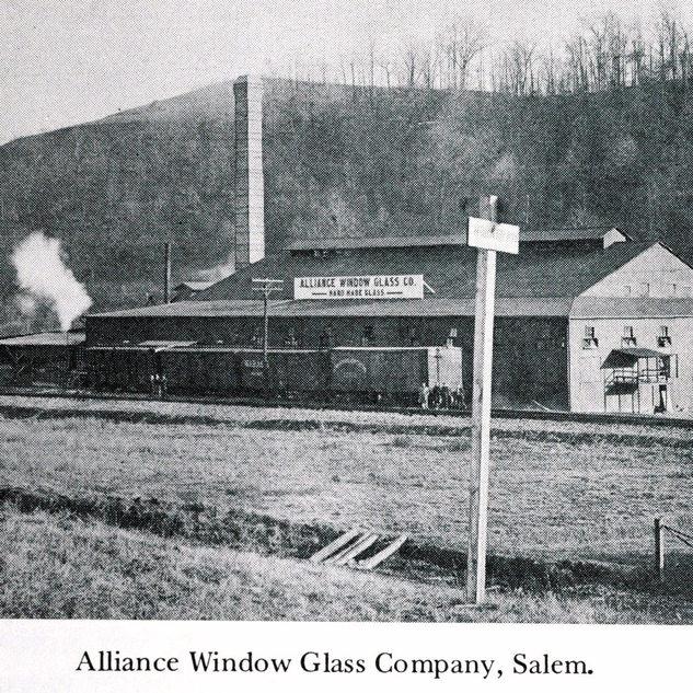 The alliance window glass, Salem.