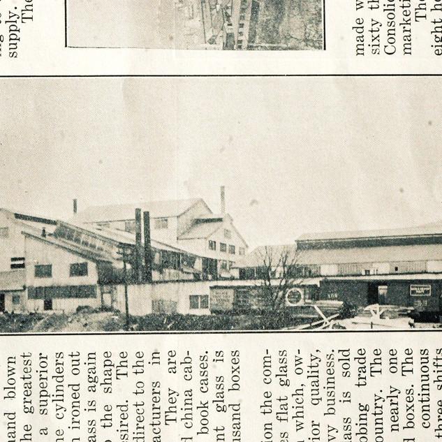 Adamston Glass around 1910