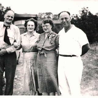 Gus Sr. and brother Jules Quar Quertinmont and wives in Buchannon, were cutters at Libbey Owens Ford in Charleston.  Jules moved to the new PPG plant in Shreveport LA. and eventually became a cutter there.  He also had a machine shop.