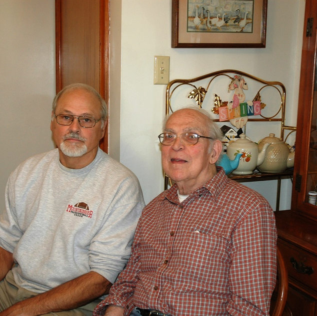 2009 photo of uncle Ed Duez