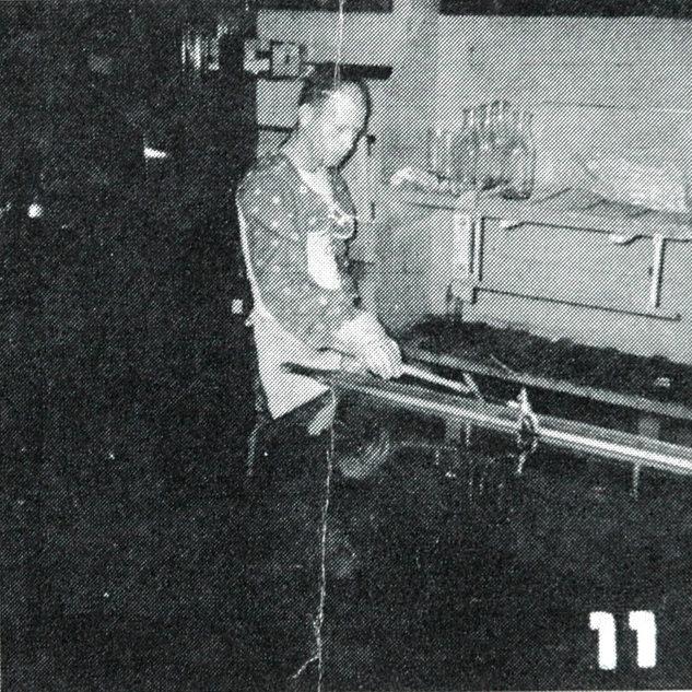Frank Heath preceptor for cutting room # 3 in 1956.