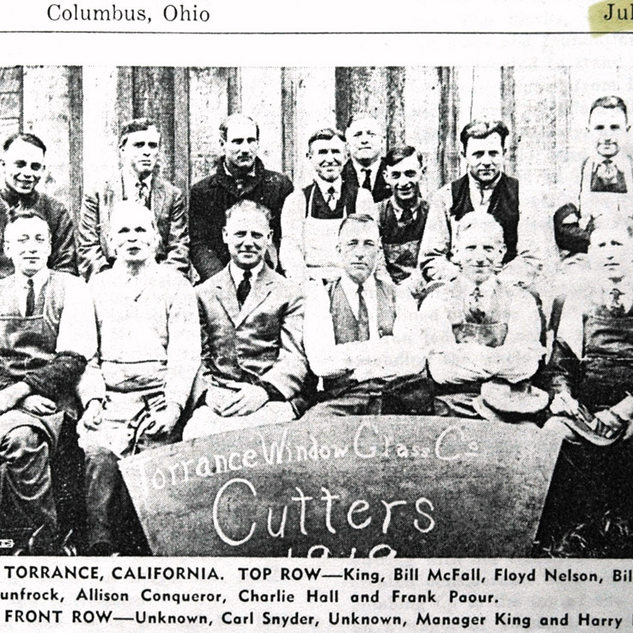 Cutters at Torrance 1919