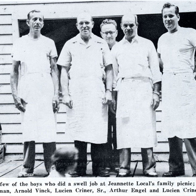 Picnic members, Sept 1950.