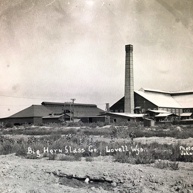 Summer scene of the plant around 1920.