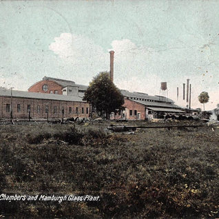 The Chambers and Manburg Glass plant was established before 1907 in Mt. Vernon.