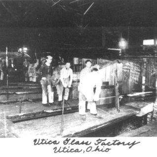 Interior of one of the three plants in Utica.