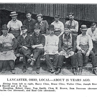 Most likely all cutters from the Lancaster plant.  Photo around 1907.