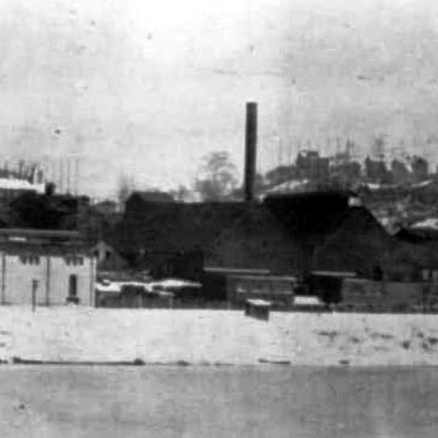 Winter view of the plant 1913.