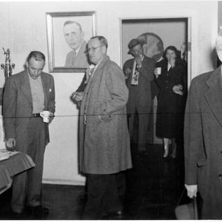 Joff Rolland was majority owner of Fourco glass, on the left.