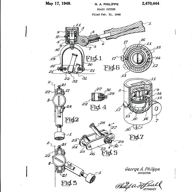 G. Phillippi's official patent of 1946.