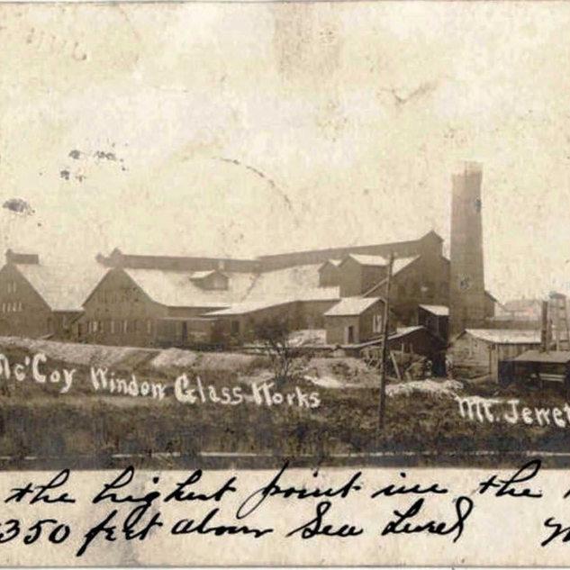 1907 photo of the Mt. Jewett plant.