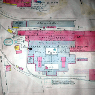 A 1952 Sanborn map of PPG.