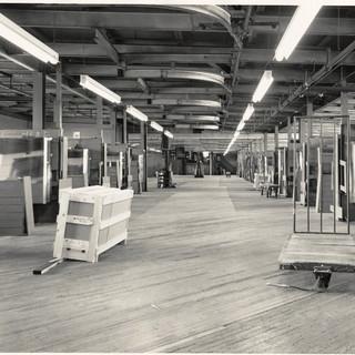 Top floor cutting department