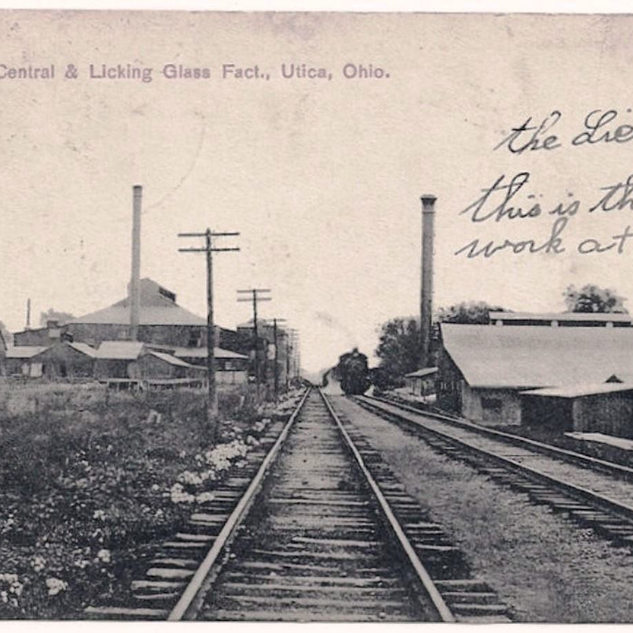 The Central and the Licking before 1912, looking south.