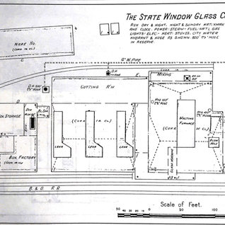 It appears the Upshur plant burned down in 1904 and S.A. Moore rebuilt it and was called State Window Glass Co. until 1912.