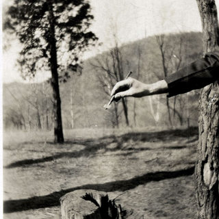 This is the hand of Howard Osmond in 1923