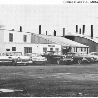 Blenko glass at Milton WV started in Clarksburg 1911.  Moved to Milton and would make hand made window glass on demand today.