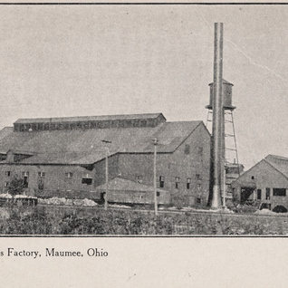 The Maumee Glass plant in north west Ohio.