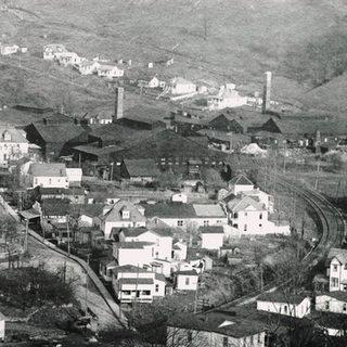 Looking east in 1920