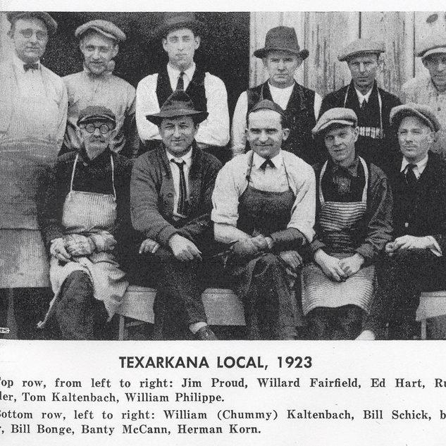 Cutters at Texarkana around1913.