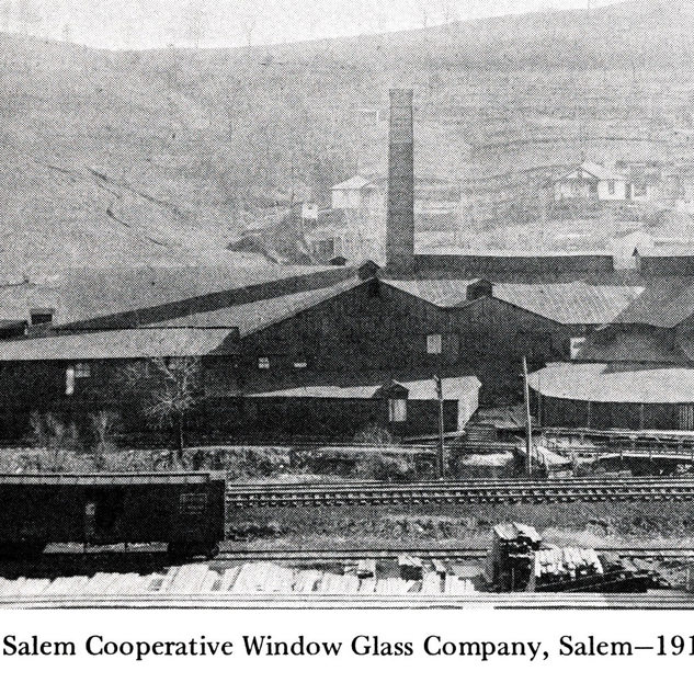 Salem co-operative in 1910 the year competition came along across the B&O railroad tracks.