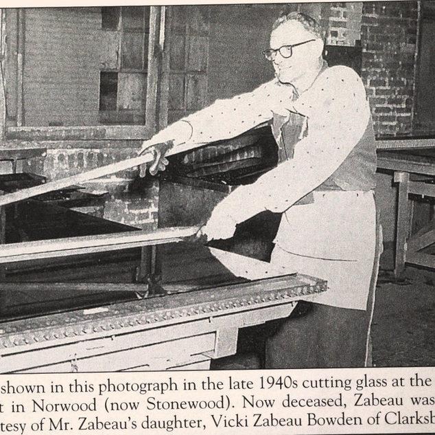 Rene Zabeau and long handled splitter