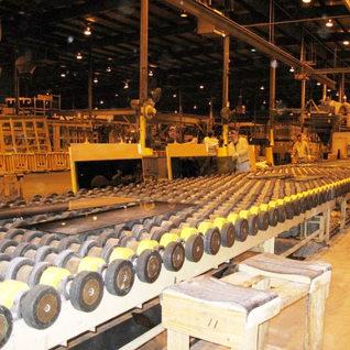 Inside Jerry Run plant.